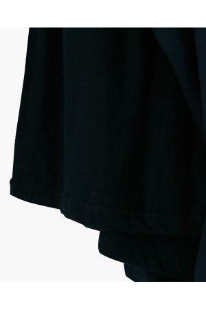 SHORT-SKIRT IN RECYCLED POLYESTER AND ORGANIC COTTON
