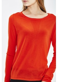 PULL COL ROND EN ECO LAINE MERINOS EXTRAFINE