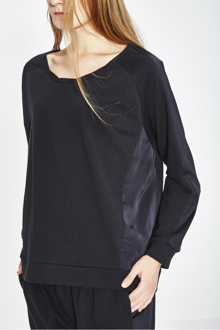 SWEAT COTON BIO & POLYESTER RECYCLE