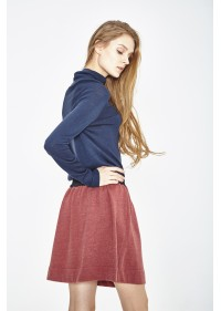 ORGANIC COTTON AND RECYCLED POLYESTER SKIRT