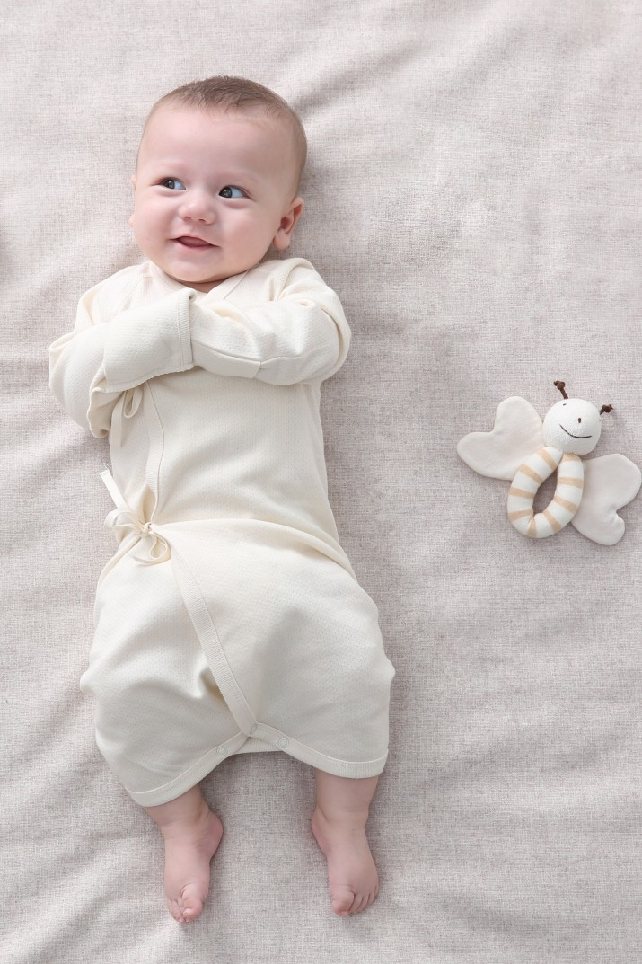 ORGANIC COTTON SLEEPSUIT