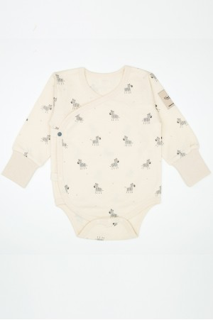ORGANIC COTTON PRINTED BODYSUIT