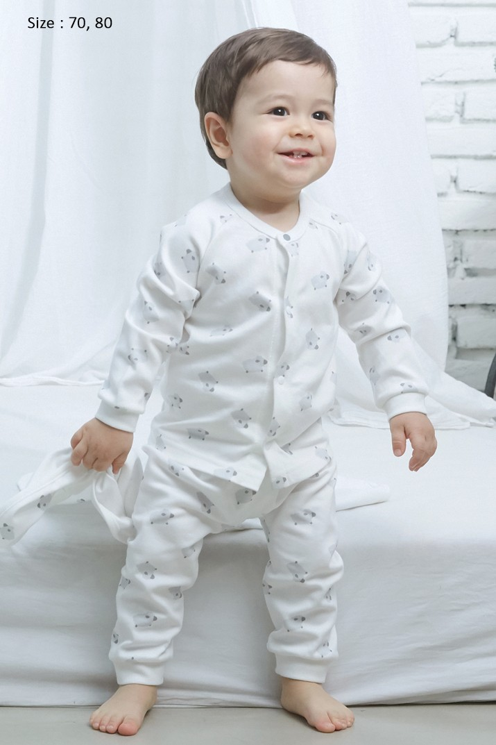 ORGANIC COTTON BABY PYJAMAS