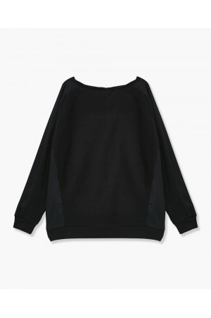 SWEAT COTON BIO ET POLYESTER RECYCLE