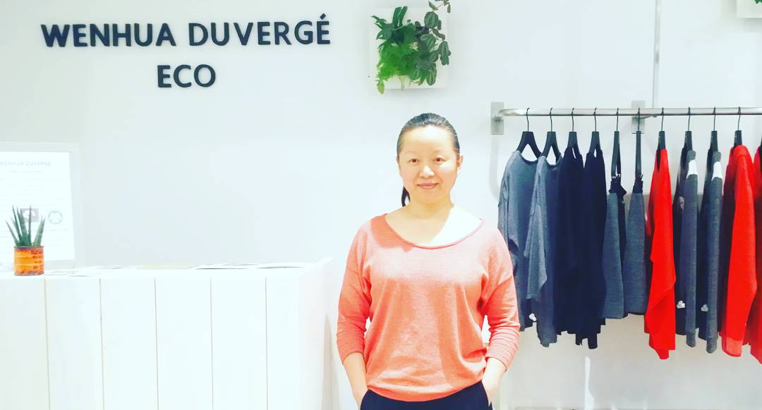 Wenhua Duvergé, the eco chic designer !