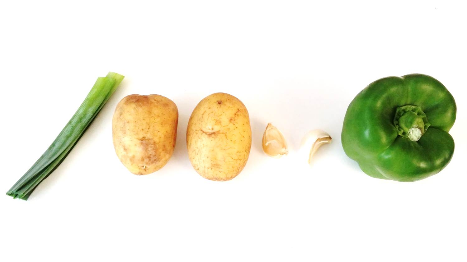 WENHUA DUVERGÉ - Stir-fried Organic potatoes with green peppers
